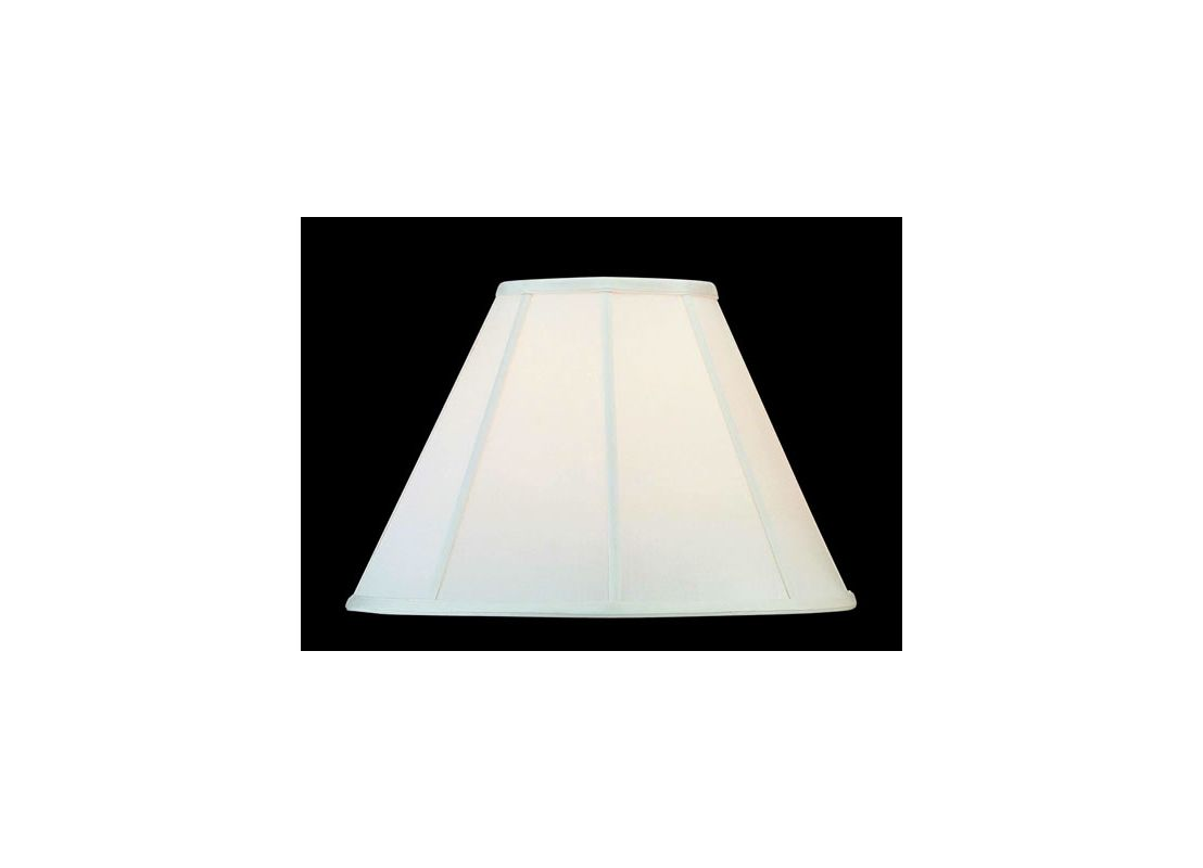 "Lite Source CH106-16 12"" Height Large Eggshell Empire Shade Eggshell"