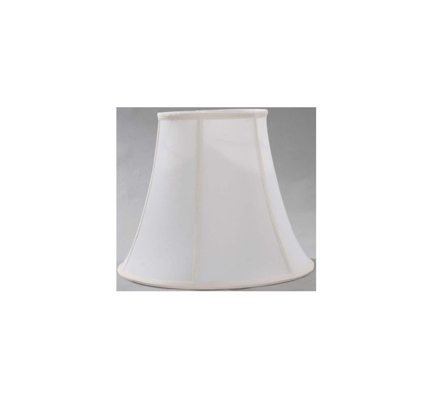 "Lite Source LS-CH1183-16 13"" Height Large Off-White Linen Empire Shade"