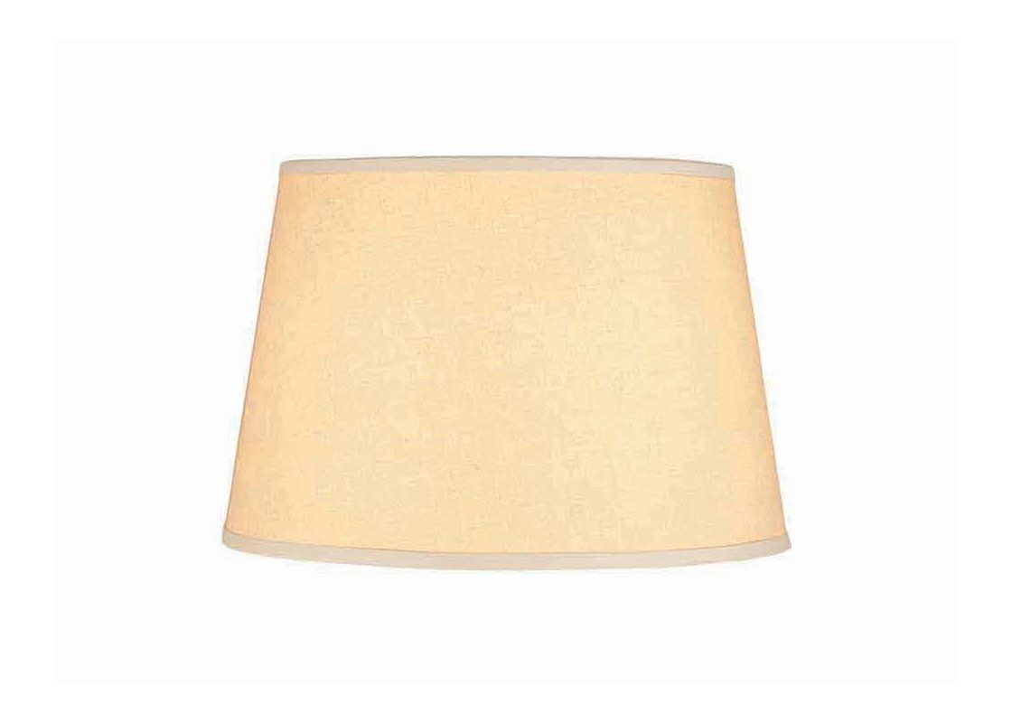 "Lite Source CH185-16 11"" Height Large Kraft Paper Drum Shade Kraft"
