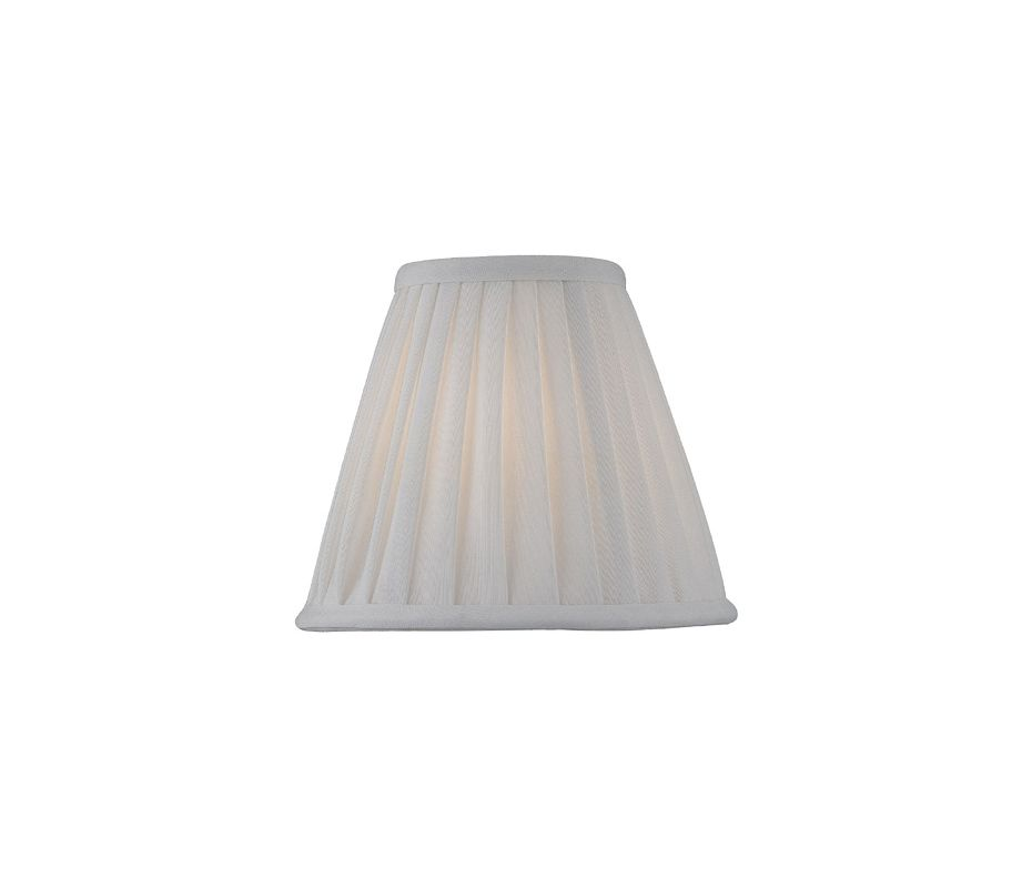 "Lite Source LS-CH5177-6 5"" Height Small Pleat Empire Candelabra Shade"