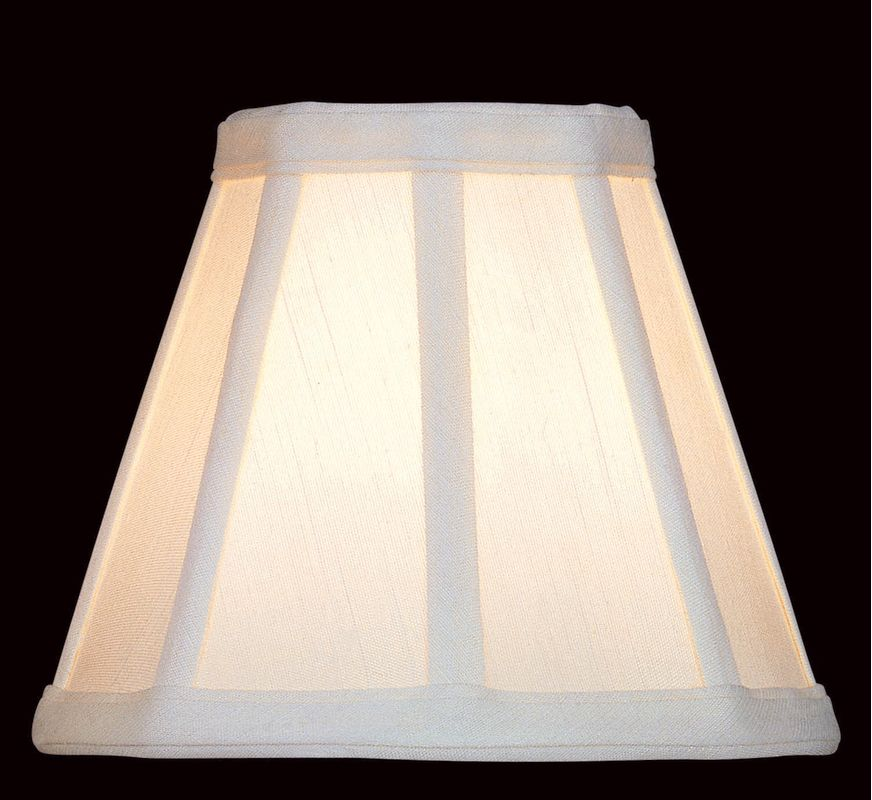 "Lite Source CH524-6 5"" Height Small Cream Empire Candelabra Shade"