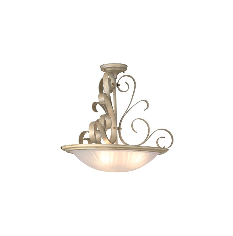 Lite Source LS-1052 Semi-Flush Ceiling Fixture from the Variance