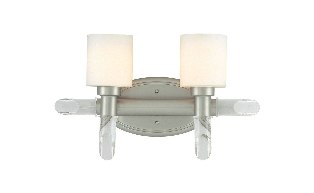 """Lite Source LS-16862 2 Light 5"""" Wide Bathroom Fixture from the Glamis"""
