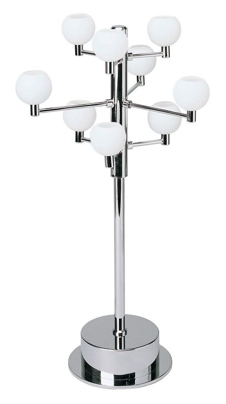 Lite Source LS-2048 Table Lamp from the Marble Collection Chrome /