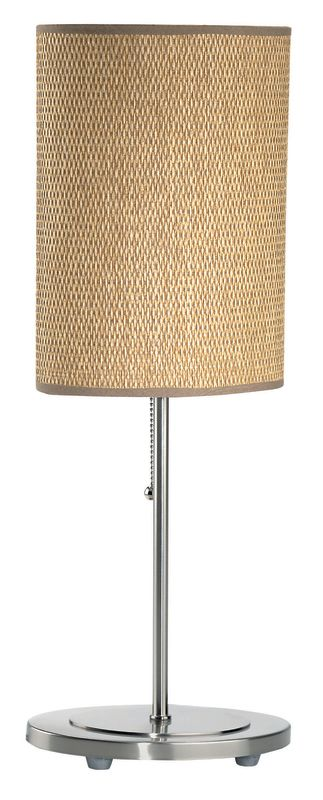 Lite Source LS-2051 Table Lamp from the Rattan Collection Polished