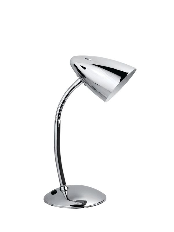 Lite Source LS-2602 Desk Lamp from the Bullet II Collection Chrome
