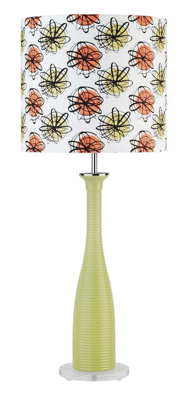 Lite Source LS-2687 Table Lamp from the Fantah Collection Green Lamps