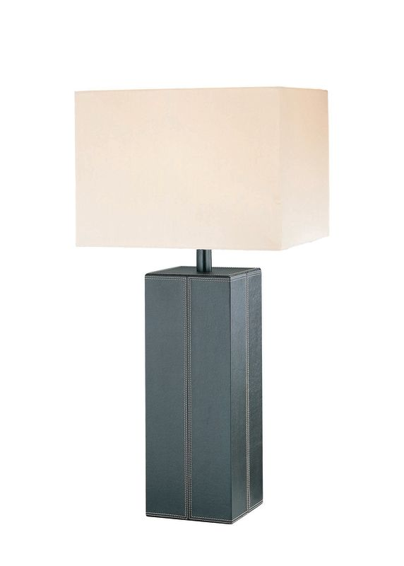Lite Source LS-2937 Table Lamp from the Leatherman Collection Dark