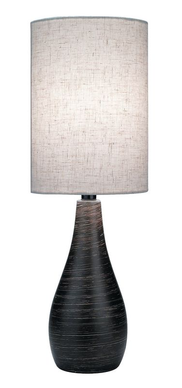 "Lite Source LS-2997 28"" Tall Table Lamp from the Quatro Collection"