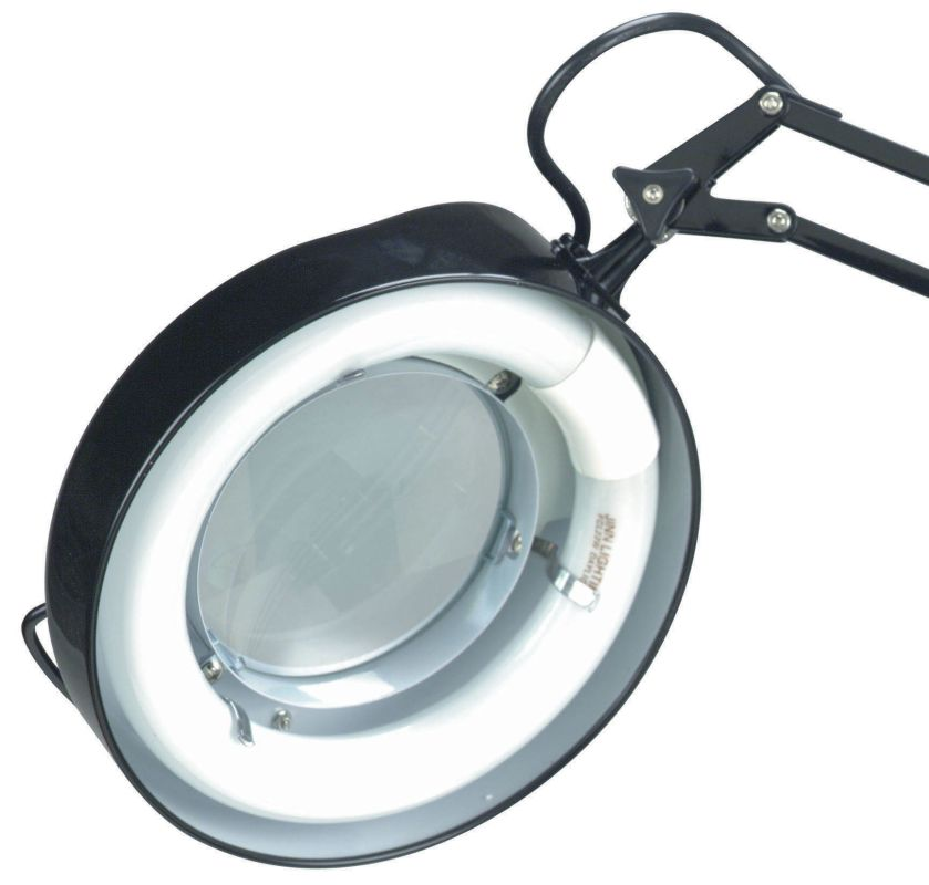 Lite Source LSM-180 Magnifying Lamp from the Mag-Lite Collection Black