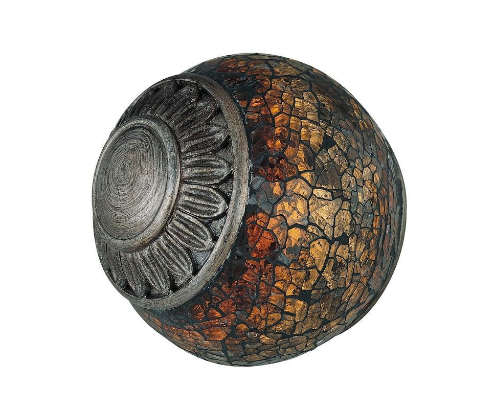 Lite Source C41027 Mosaic Decorative Vase from the Narcisco Collection