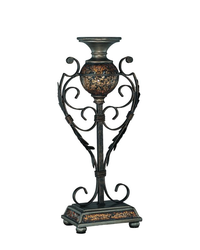 Lite Source C41033 Candle Holder 2 Mosaic from the Narcisco Collection