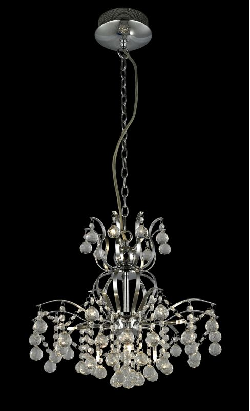 Lite Source EL-10106 Epiphany 9 Light Chandelier with Crystal Accents