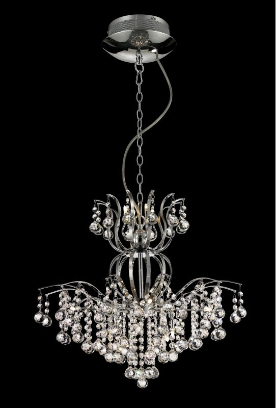 Lite Source EL-10107 Epiphany 12 Light Chandelier with Crystal Accents