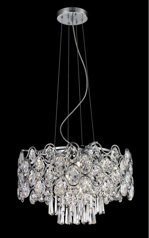 Lite Source EL-10109 Cashlin 9 Light Pendant with Crystal Accents