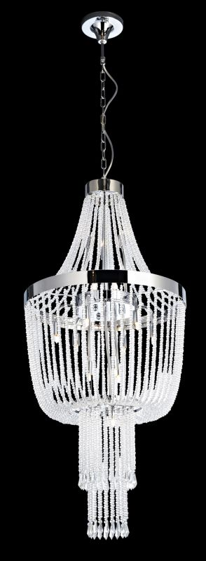 Lite Source EL-10124 Paaveli 16 Light Chandelier with Crystal Accents