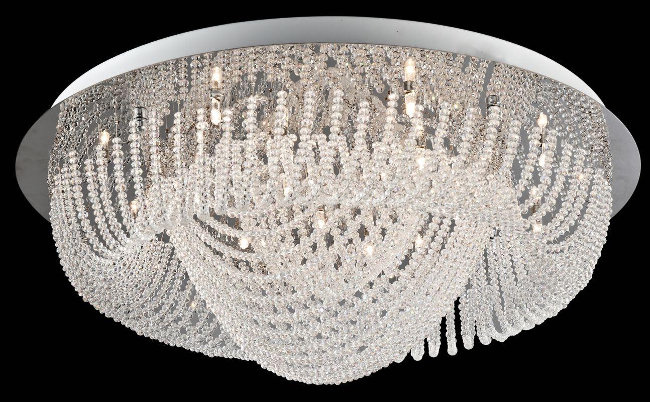 Lite Source EL-50085 Orella 18 Light Flush Mount Ceiling Fixture