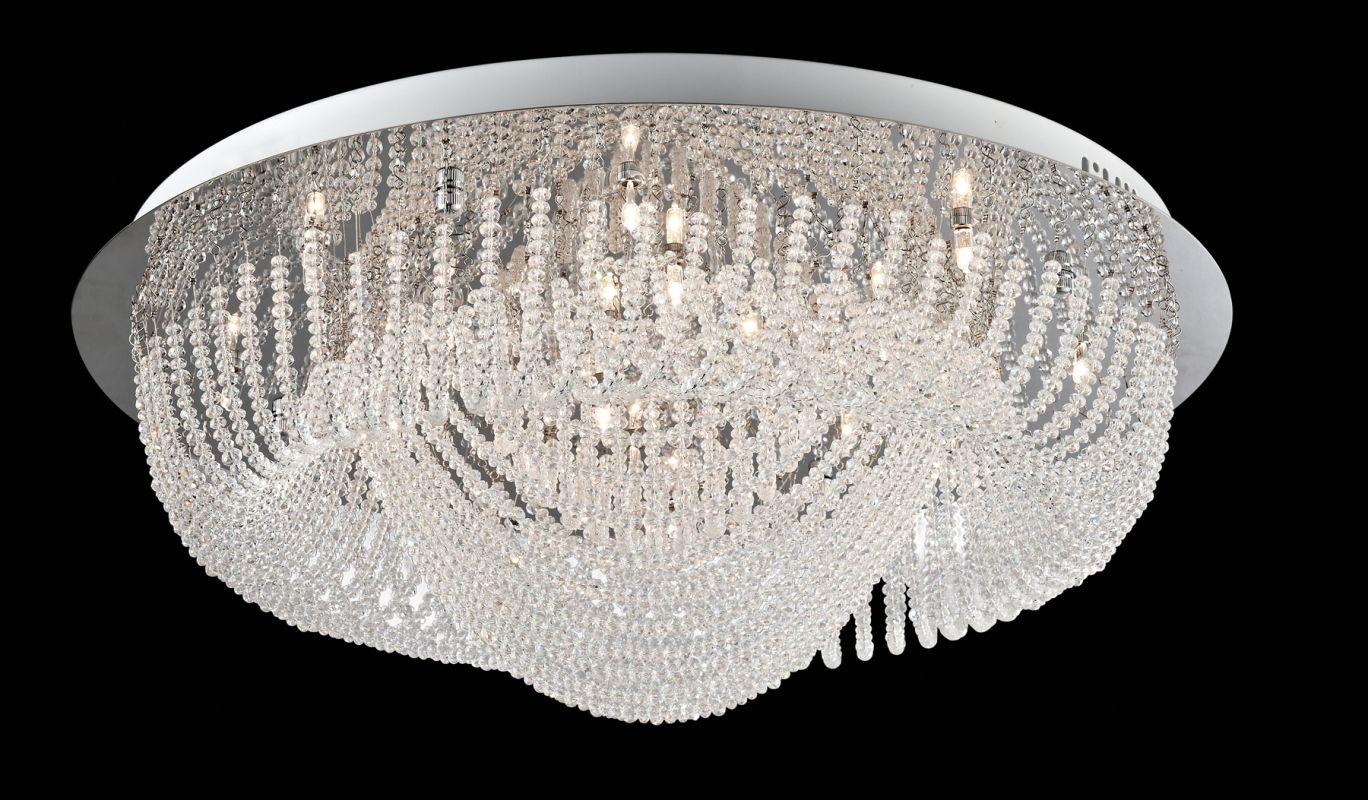 Lite Source EL-50086 Orella 24 Light Flush Mount Ceiling Fixture