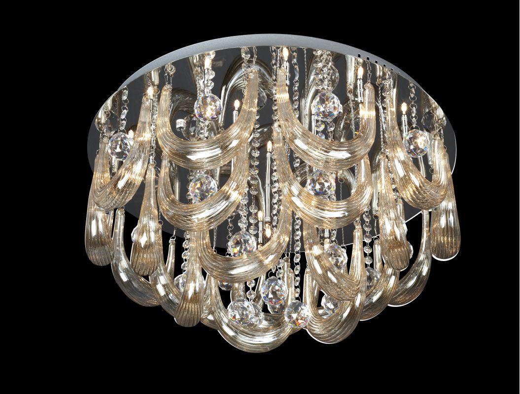 Lite Source EL-50090 Pasquale l 15 Light Flush Mount Ceiling Fixture