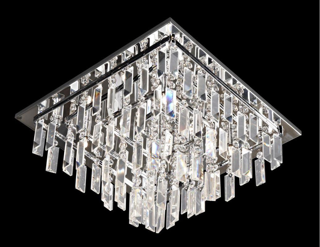 Lite Source EL-50115 Helaine 9 Light Flush Mount Ceiling Fixture with