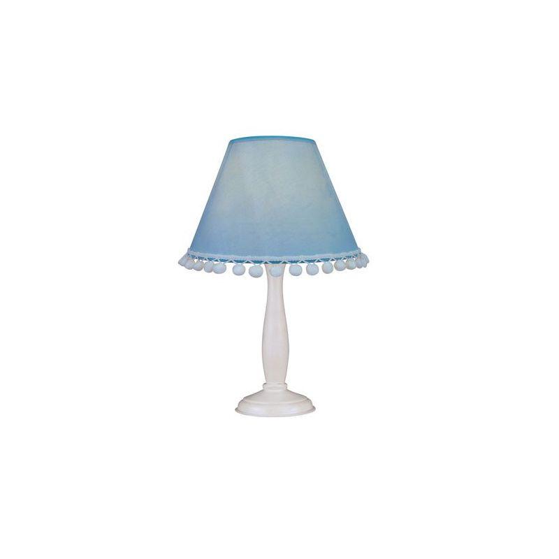Lite Source IK-6098 Pompom 1 Light Table Lamp Blue Lamps Sale $45.00 ITEM: bci2437169 ID#:IK-6098L/BLU UPC: 88675800675 :