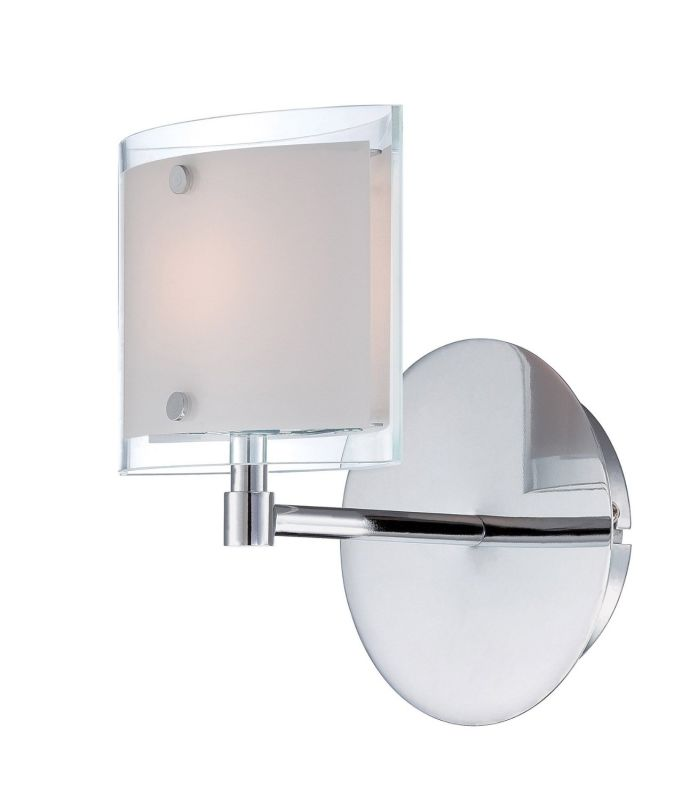 Lite Source LS-16351 Icety 1 Light Wall Sconce Chrome Indoor Lighting Sale $56.00 ITEM: bci2436950 ID#:LS-16351 UPC: 88675451891 :