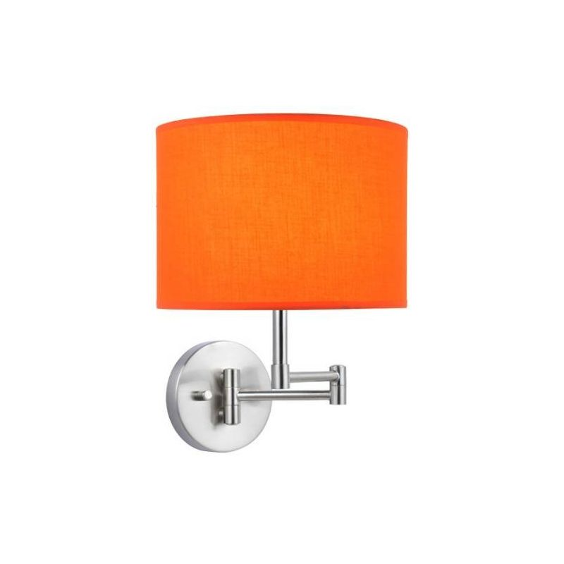 Lite Source LS-16515ORN Kasen 1 Light Wall Sconce Polished Steel
