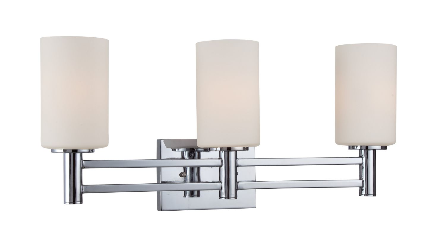 Lite Source Ls Jerrell 3 Light Bathroom Vanity Light With Search