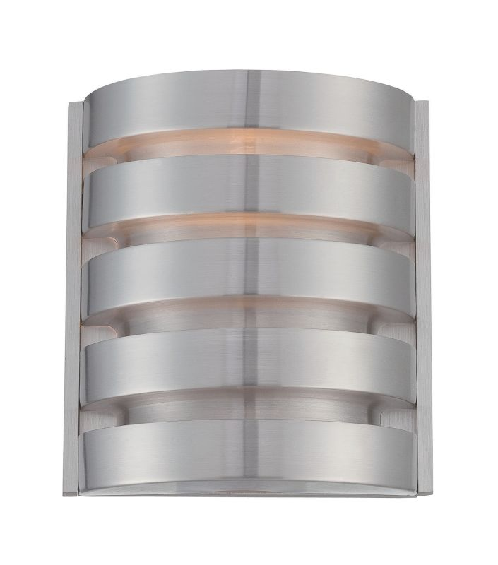 Lite Source LS-16815 Macrae 1 Light Wall Sconce Aluminum Indoor Sale $72.00 ITEM: bci2625004 ID#:LS-16815 UPC: 88675461982 :
