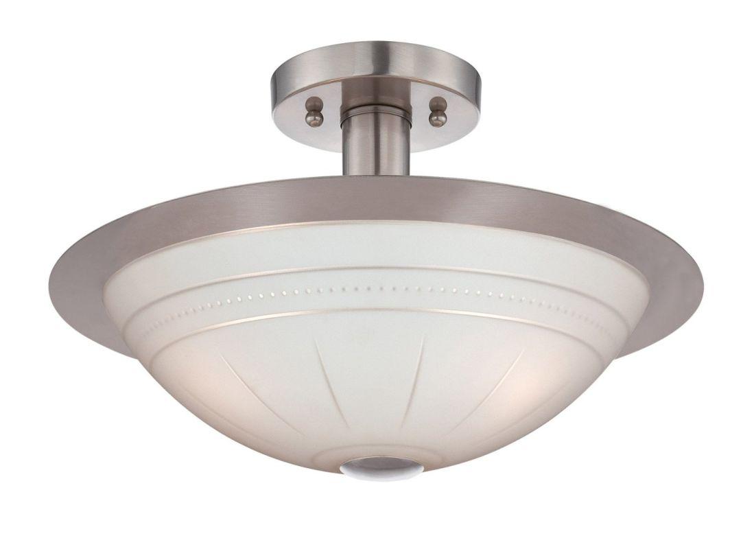 Lite Source LS-18458 Fraley 3 Light Semi Flush Ceiling Fixture
