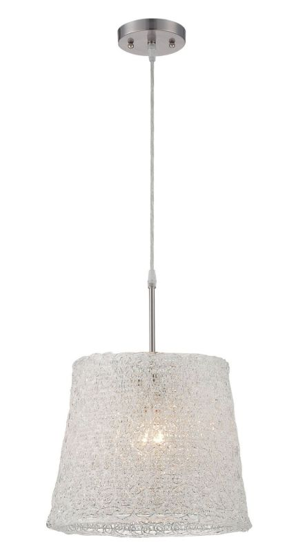 Lite Source LS-18883 Clare 1 Light Full Sized Pendant Polished Steel Sale $96.00 ITEM: bci2436887 ID#:LS-18883 UPC: 88675451150 :