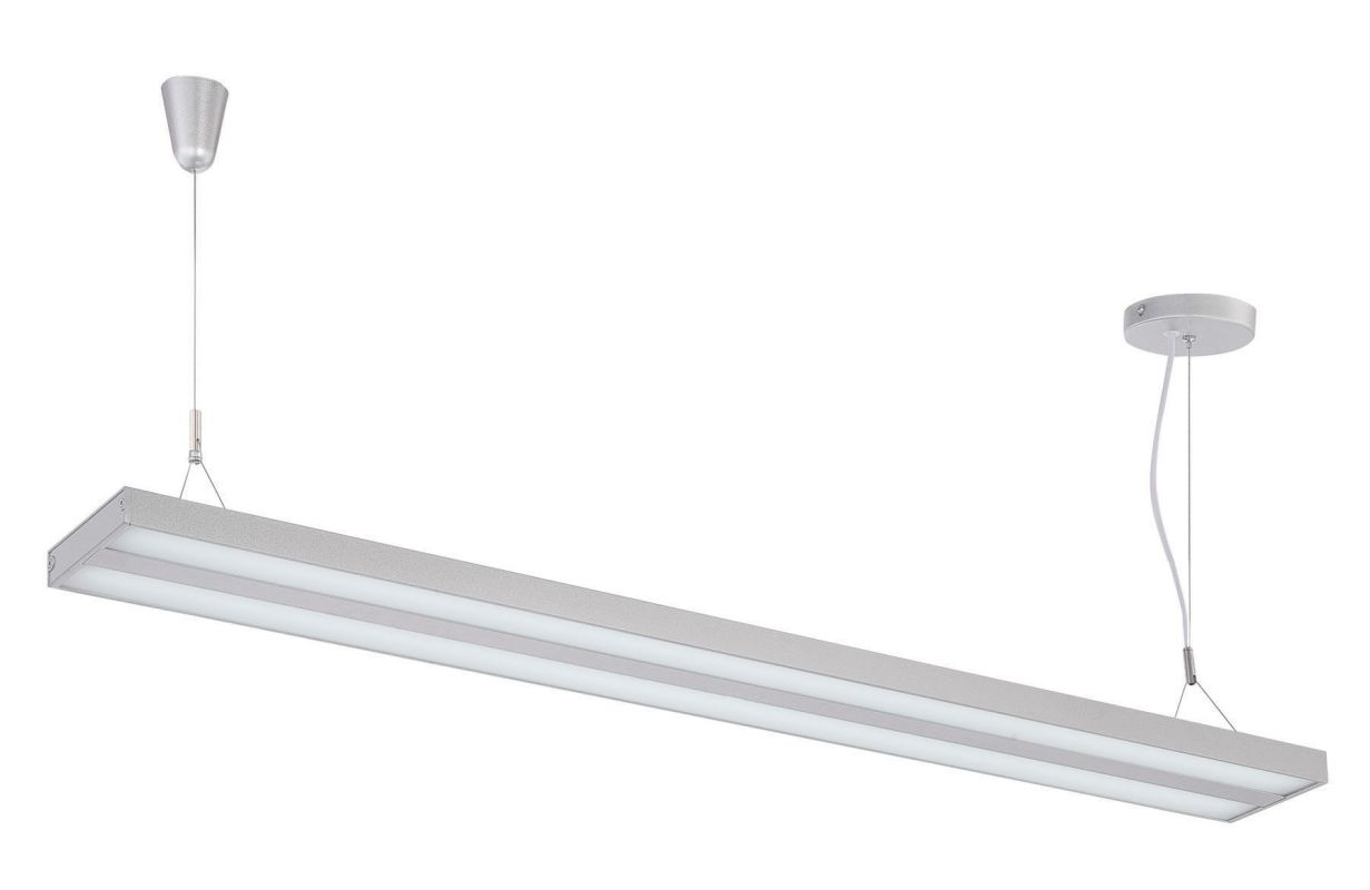 Lite Source LS-19795 Lael 1 Light LED Pendant Silver Indoor Lighting