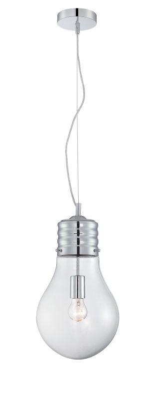 Lite Source LS-19888 Bubba 1 Light Pendant Chrome Indoor Lighting Sale $145.00 ITEM: bci2625008 ID#:LS-19888 UPC: 88675462262 :