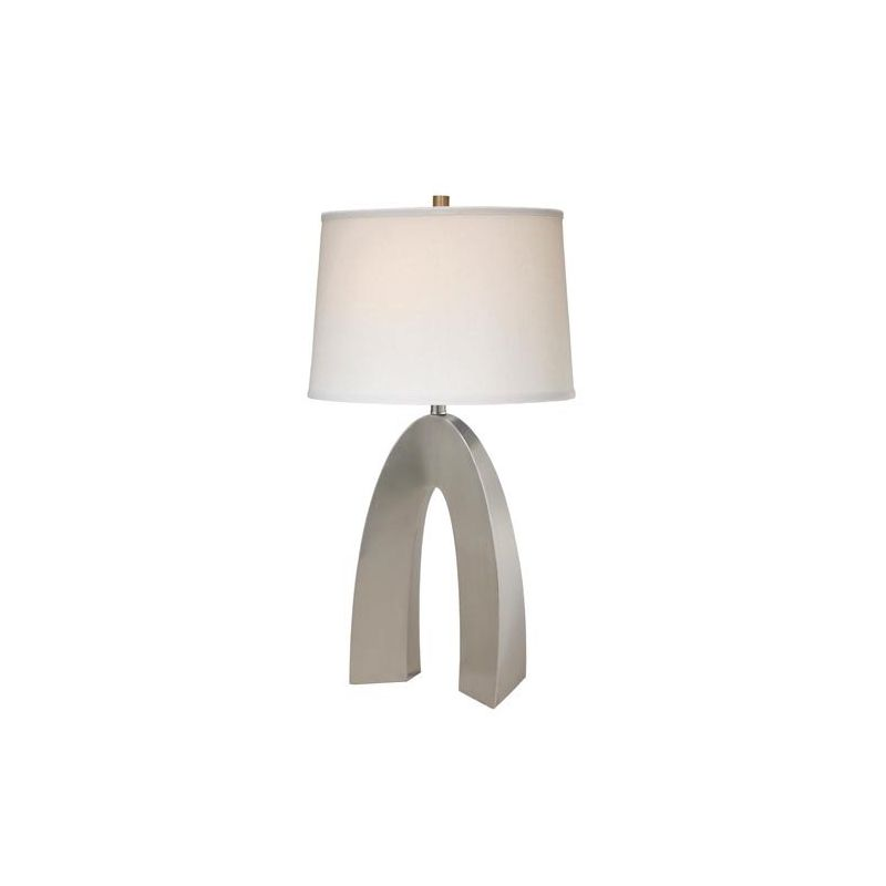 Lite Source LS-21931PS/WHT Forster 1 Light Table Lamp Polished Steel Sale $264.00 ITEM: bci2437059 ID#:LS-21931PS/WHT UPC: 88675452171 :
