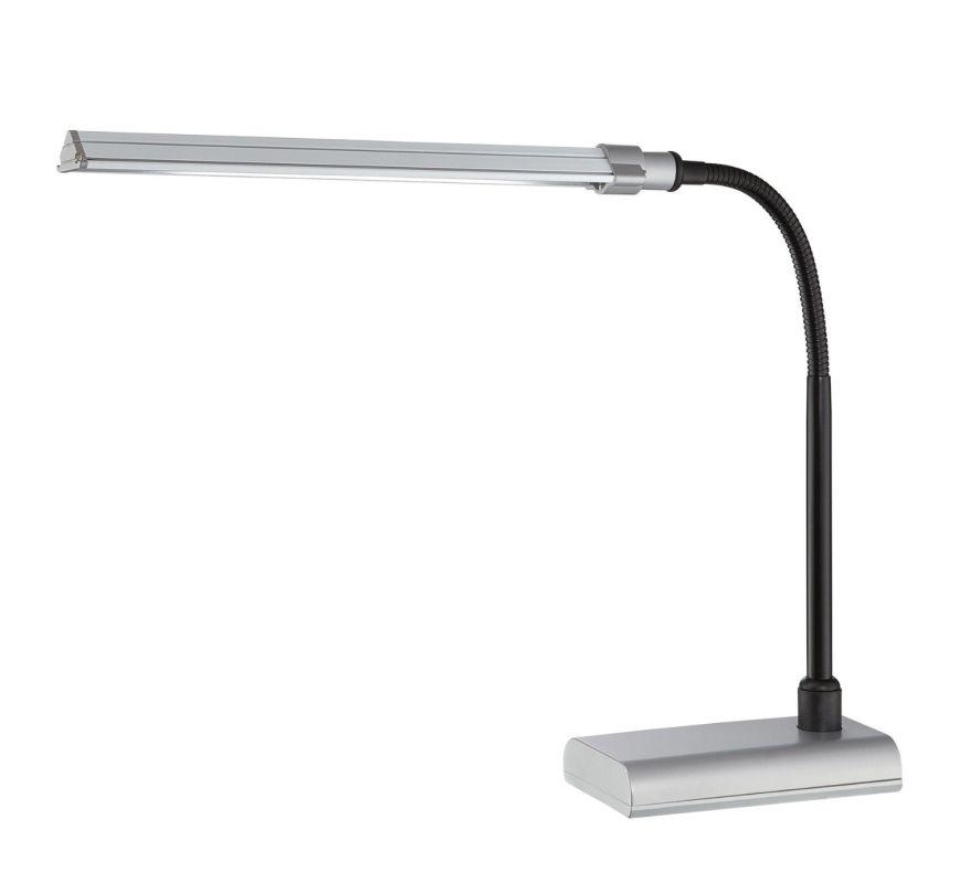 Lite Source LS-22048 Ermete LED Adjustable Lamp Silver Lamps Gooseneck