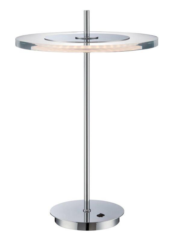 Lite Source LS-22080 Otoniel LED Table Lamp Chrome Lamps Accent Lamps