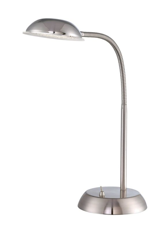 Lite Source LS-22201PS Eladio LED Adjustable Desk Lamp Polished Steel