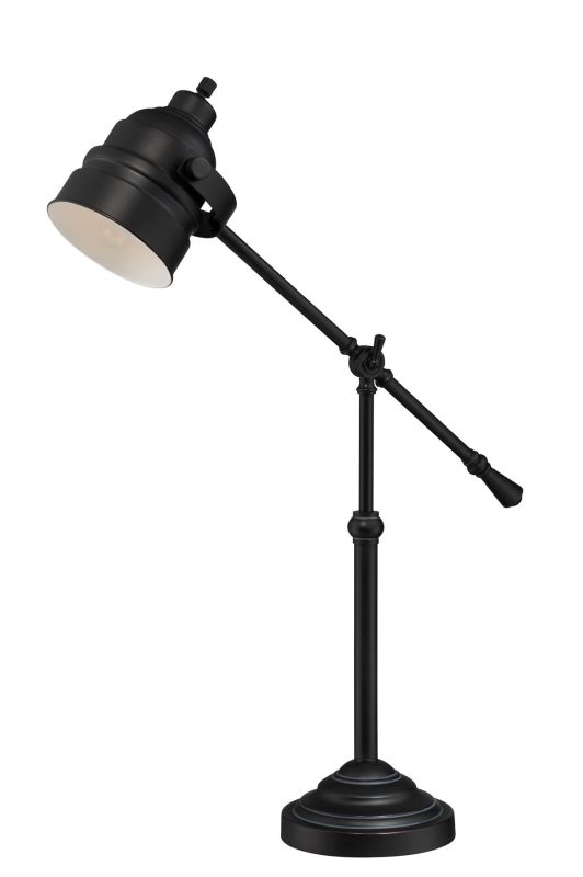 Lite Source LS-22223AGED/CP Fenella 1 Light Swing Arm Table Lamp Aged