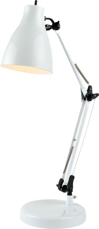 Lite Source LS-22312 Karolina 1 Light Swing Arm Desk Lamp White Lamps Sale $49.00 ITEM: bci2566623 ID#:LS-22312WHT UPC: 88675458180 :