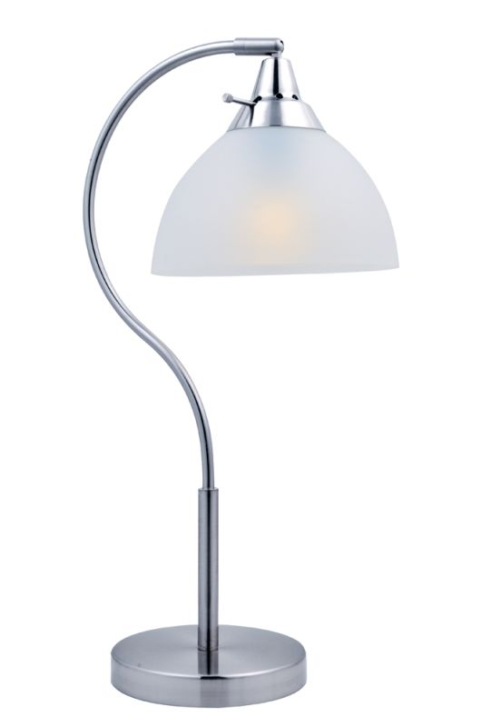 Lite Source LS-22376 Zuna 1 Light Arc Table Lamp with Frosted Plastic Sale $78.00 ITEM: bci2566773 ID#:LS-22376 UPC: 88675459262 :