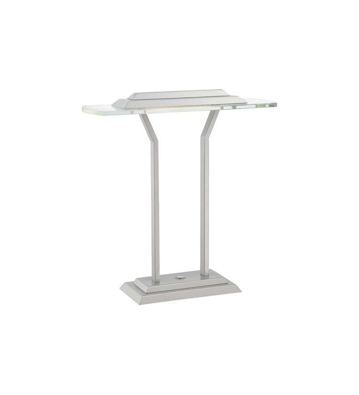 Lite Source LS-22479 Slate 1 Light LED Accent Lamp with Clear Tempered Sale $244.00 ITEM: bci2566513 ID#:LS-22479 UPC: 88675460183 :