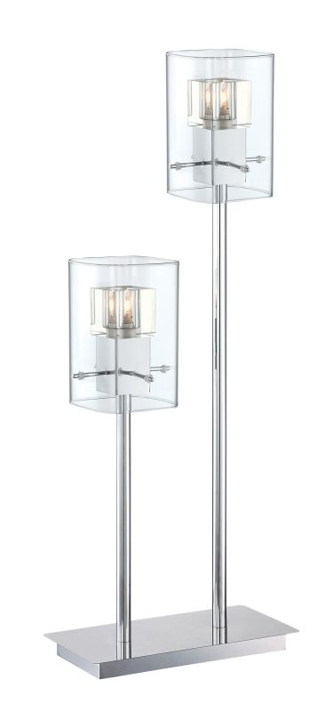 Lite Source LS-22587 Aida 2 Light Table Lamp with Clear Crystal Glass Sale $227.00 ITEM: bci2566485 ID#:LS-22587 UPC: 88675461432 :