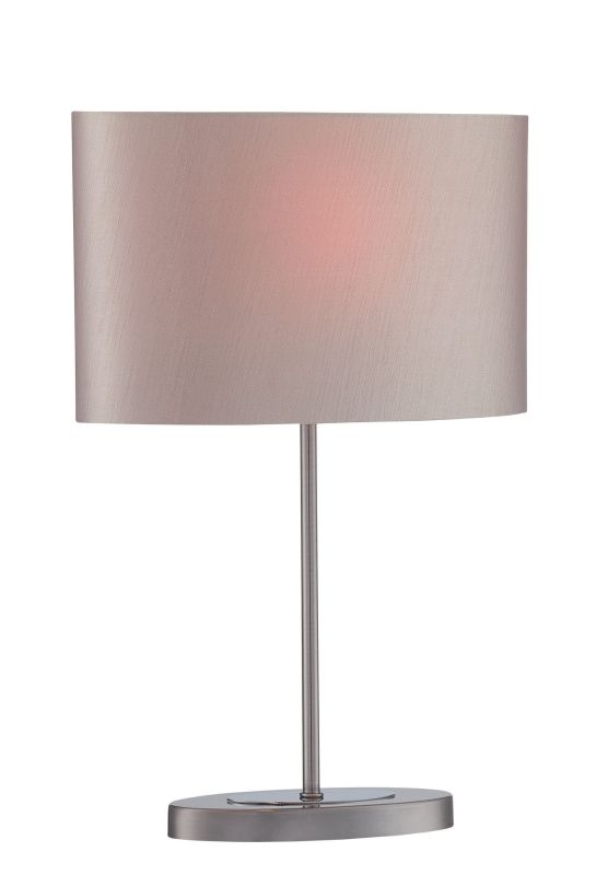 Lite Source LS-22717 Titus 1 Light Table Lamp Gun Metal / Chrome Lamps Sale $105.00 ITEM: bci2624995 ID#:LS-22717 UPC: 88675462910 :