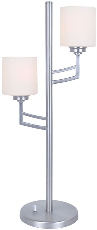 Lite Source LS-22785 Winston 2 Light Tree Table Lamp with Frosted Sale $174.00 ITEM: bci2566761 ID#:LS-22785PS UPC: 88675459675 :