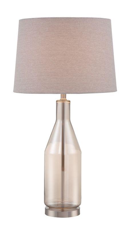 "Lite Source LS-22880 Basir 30.5"" High 1 Light Table Lamp with Linen"