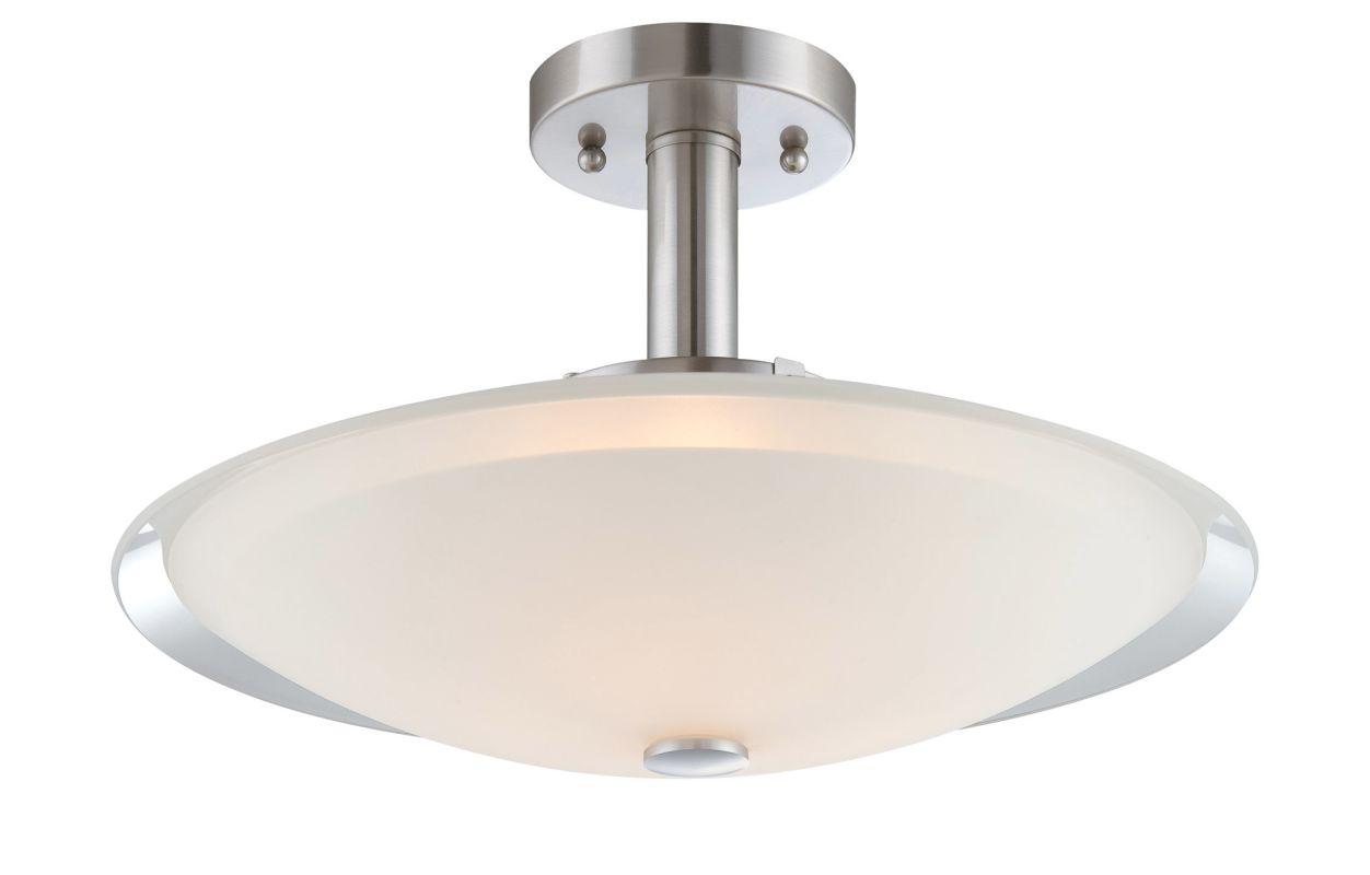 Lite Source LS-5435 Natharie 3 Light Semi Flush Ceiling Fixture