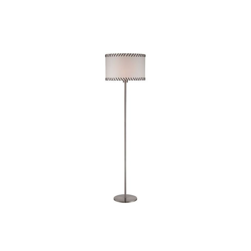 Lite Source LS-81858 Lavina 1 Light Floor Lamp Polished Steel Lamps Sale $98.00 ITEM: bci2437119 ID#:LS-81858 UPC: 88675450979 :