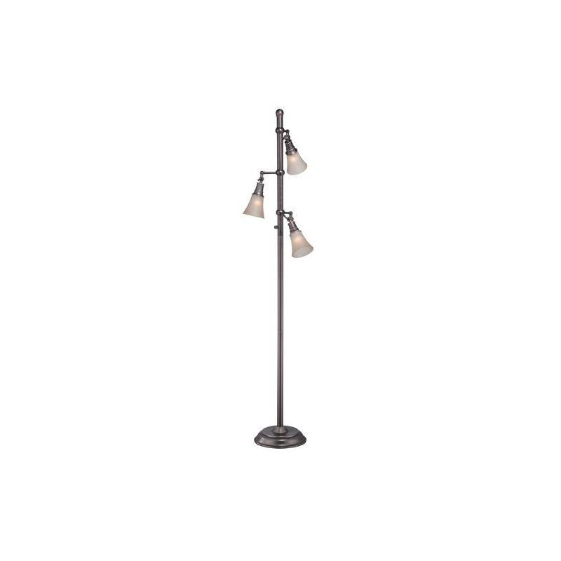 Lite Source LS-81942 Mercede 3 Light Tree Lamp Antique Copper Lamps