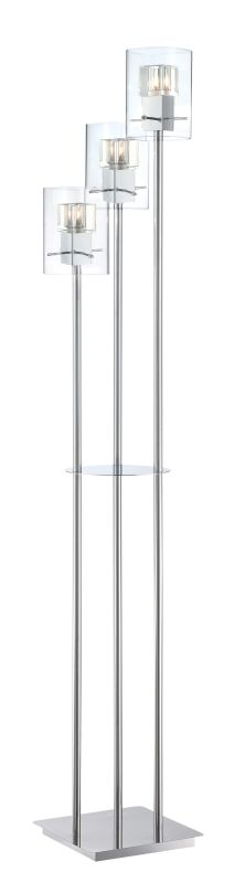 Lite Source LS-82587 Aida 3 Light Floor Lamp with Clear Crystal Glass Sale $471.00 ITEM: bci2566486 ID#:LS-82587 UPC: 88675461449 :