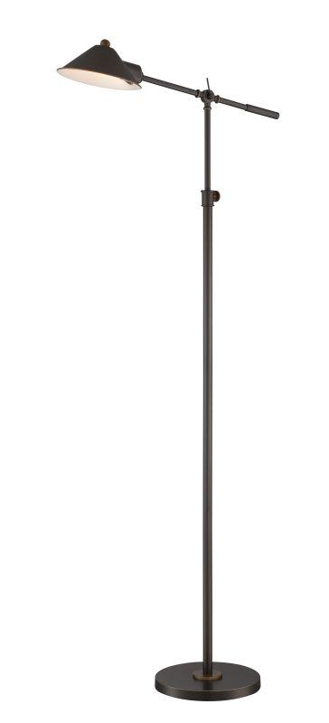 """Lite Source LS-82783 Najinca 67"""" High 1 Light Floor Lamp with Dark"""